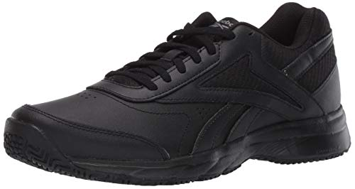 Reebok Women's Work N Cushion 4.0 Walking Shoe, Black/Cold Grey/Black, 10.5 M US