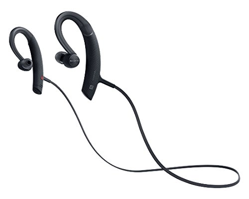 Sony MDR-XB80BS/B Wireless Sports Bluetooth in-Ear Headphones (Certified Refurbished)(Renewed)
