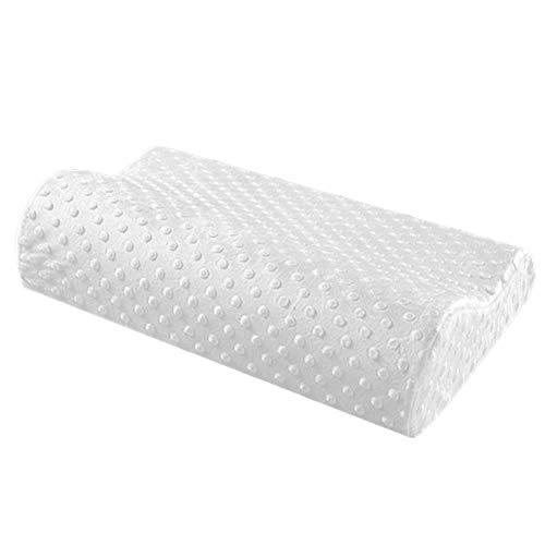 Chunyu Höhenwählbar Memory Foam Kopfkissen, für HWS Nacken undSchulter Schmerzen,Ergonomisches Kissen, für Seitenschläfer und Rückenschläfer, waschbare bezug