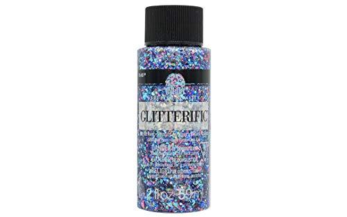 Plaid:Craft 5935 Folkart Glitterific Glitter Paint, Multicolor