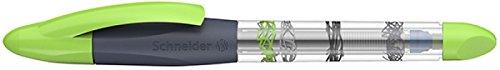 Schneider Base Ball Patronenroller (Rollerball-Spitze, inkl. Patrone) grau-grün