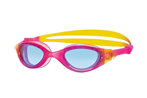 Zoggs Jungen Schwimmbrille Panorama, Pink/Yellow, One Size, 302563