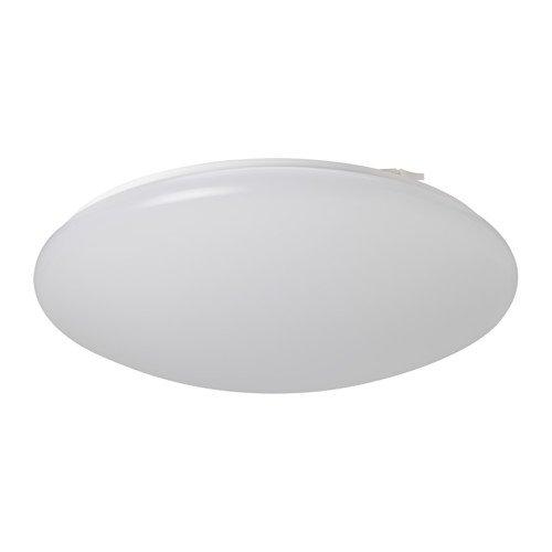 IKEA LEVANG LED Deckenleuchte in weiß; rund; (42cm); A+