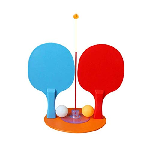 Knowled - Trainer de tenis de mesa con varilla elástica flexible para tenis de mesa con mango flexible elástico