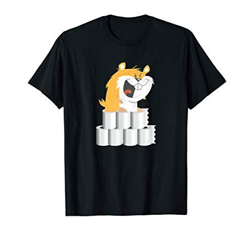 Ich Brauche Mehr Toilettenpapier Hamster Grafik Zum Hamstern T-Shirt