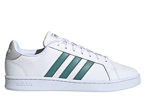 adidas Grand Court, Zapatillas de Tenis Hombre, FTWBLA/ESMBRU/Gridos, 46 EU