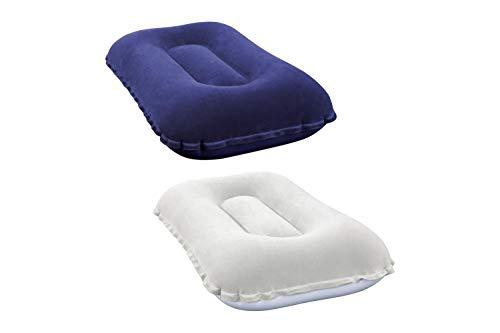 Bestway Luftkissen Comfort Quest Aufblasbares Kopfkissen Sitzkissen, 42 X 26 X 10 cm