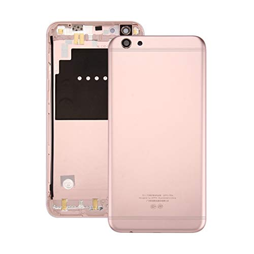 Mobile Phone Replacement Parts For OPPO R9s Battery Back Cover(Gold) (Color : Rose Gold)