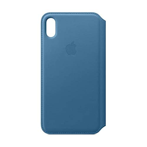 Apple Custodia folio in pelle (per iPhoneXSMax) - Blu profondo