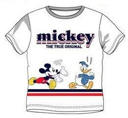 SUN CITY T-shirt Mickey Blanc PS Enfant 3 ans