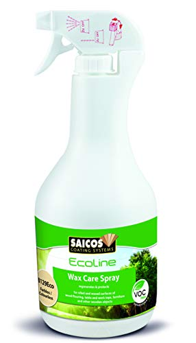 Saicos Colour GmbH ECO 416 8129 Ecoline Pflegewachs Spray, Farblos