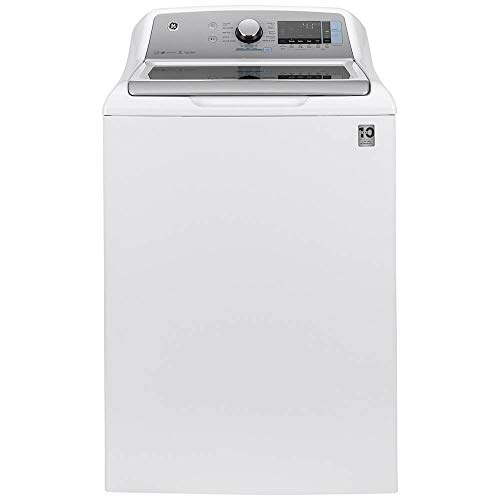 GE GTW840CSNWS 5.2 Cu.Ft. White Top Load Smart Electric Washer