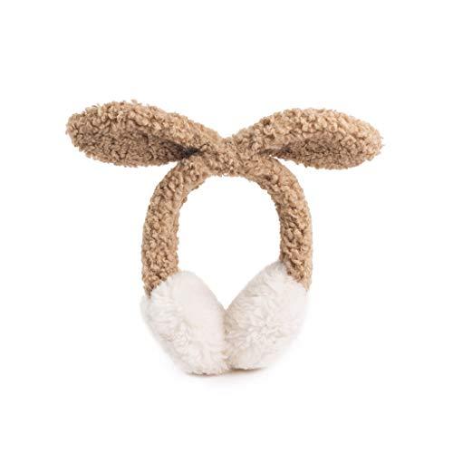 ZJ Warm halten Earmuffs Warm Earmuffs Earmuffs Mann-Winter Earmuffs Frauen im Freien Earmuffs Warm warm (Color : Brown)