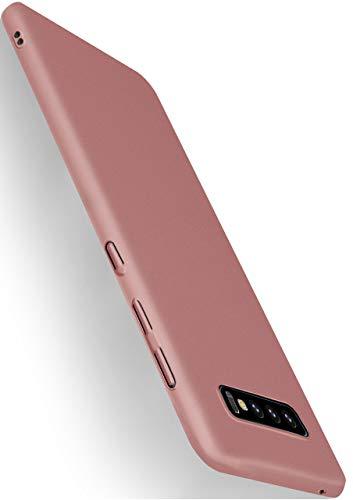moex Alpha Case für Samsung Galaxy S10 Hülle Stoßfest und Leicht Handyhülle Extra Dünn, Super Slim Schutzhülle Ultra Air Hybrid PC Hardcase aus Kunststoff - Rosegold