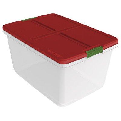 Holiday Storage Container [Set of 6] Size: 13.1u0022 H x 24u0022 W x 16.8u0022 D