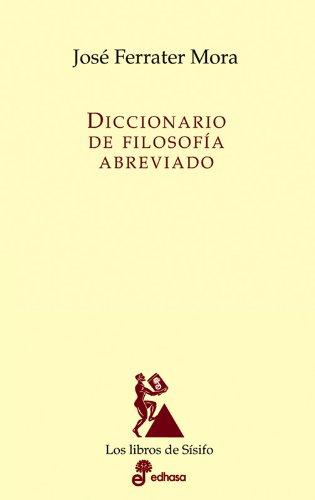 Diccionario de filosof¡a abreviado (Los libros de Sísifo)