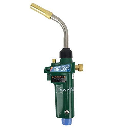 Braze Solding Torch MAPP - Soplete de gas propano con disparador estilo CGA600