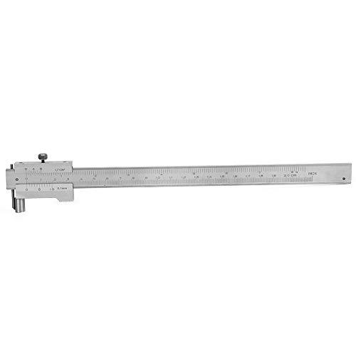 Calibrador Vernier de 0-200 mm, medidor de marcado paralelo hecho de acero inoxidable para medir y trazar varios tipos de mecanizado(0-200mm)
