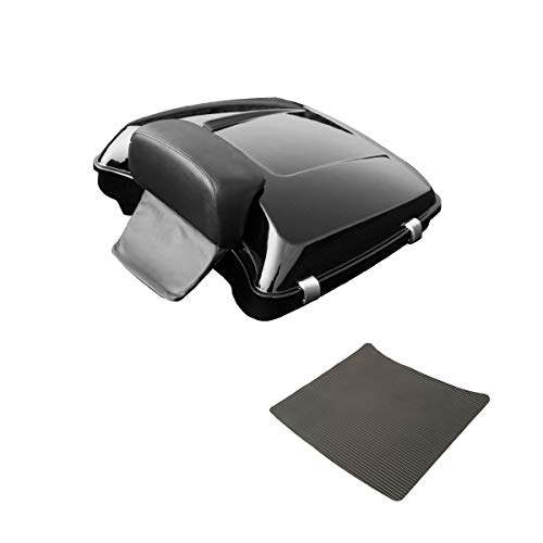 TCMT 5.5' Razor Tour Pack Trunk + Backrest Fits For Harley Touring Street Glide 2014-2020