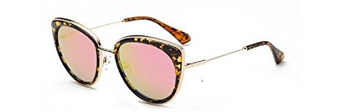 Embryform coloridos hombres y gafas de sol de las mujeres gafas de gato de moda retro gafas de sol