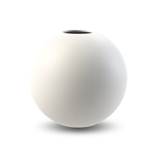 Cooee Design Ball Vase 10cm White