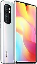 Xiaomi Mi Note 10 Lite Smartphone - 6.47″, 3D Curved AMOLED Display, 6 GB + 64 GB, AI Quad Caméra, 5260 mAh, Bianco (Glaci...
