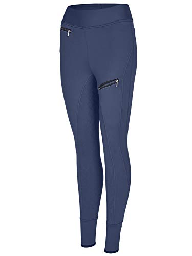 BUSSE Reit-Tights PERFECT-FIT TEENS, navy, 158,