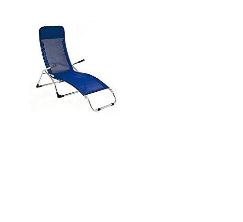 jan kurtz fiam SAMBA sonnenliege dunkelblau sauna RELAX sunbed lounger reclining NEU
