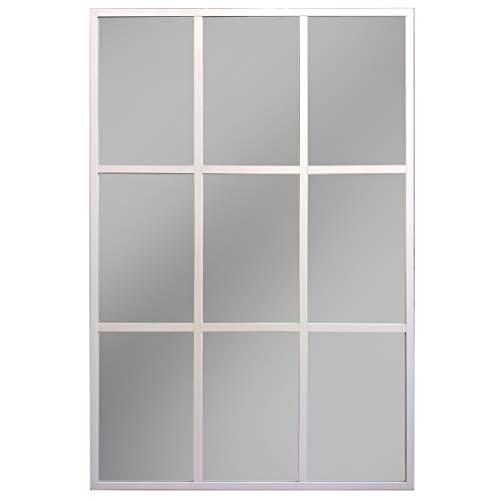 Espejos Grandes De Pared Blanco espejos grandes de pared  Marca Desconocido