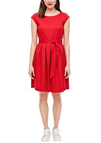 s.Oliver Damen 120.12.003.20.200.2028516 Kleid für besondere Anlässe, red, 40