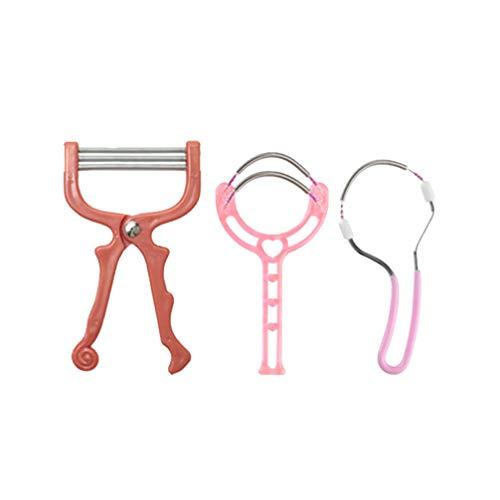 MILISTEN 3Pcs Gesichtshaarentferner für Frauen Entfernen Sie Unerwünschte Haare an Oberlippe Kinn Gesicht Oder Hals Die Ursprüngliche Haarentfernungsfeder für Unansehnliches Haar