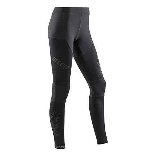 CEP - Run Tights 3.0 für Damen | Laufhose mit Kompression für Dein Training in schwarz | Größe III