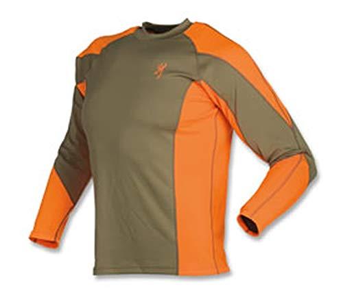Browning (3011820104) NTS Upland Shirt, Blaze, X-Large