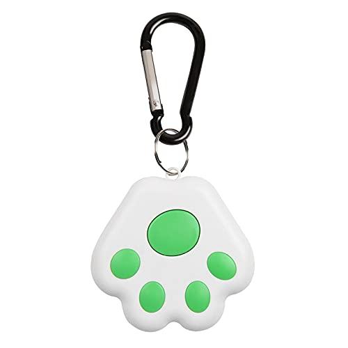 Mini rastreador GPS impermeable portátil antipérdida GPS para gatos y perros en tiempo real 4.0 con alarma antipérdida Bluetooth 4.0, localizador de llaves, mini rastreador para llaves de niños, bolsa