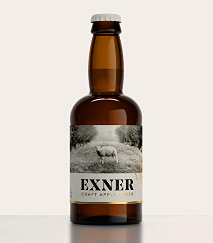 EXNER Craft Apple Cider - Sidra Artesana 100% Manzana - Sin Concentrado (12 x 33 cl)