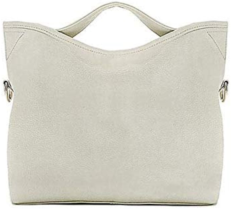 Natural Cow Leather Handbag Women Bag Fashion Ladies Messenger Bags Brand Genuine Leather Shoulder Bag Women Casual Tote 2018 White
