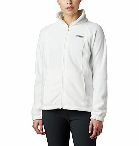 Columbia womens Benton Springs Full Zip Fleece Jacket, Sea Salt, Small US