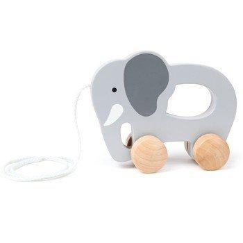 Hape E0908 - Nachzieh-Elefant, Holzspielzeug