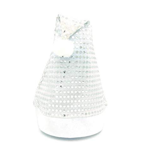 Weihnachtlicher Hut mit Weihnachtsmann-Motiv, Weihnachtsdekoration, für den Esstisch, für Restaurant, Hotel (B) One size