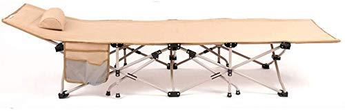 HYY-YY Lit plegable portátil Lit de acampada flexible en plein air Adultes...