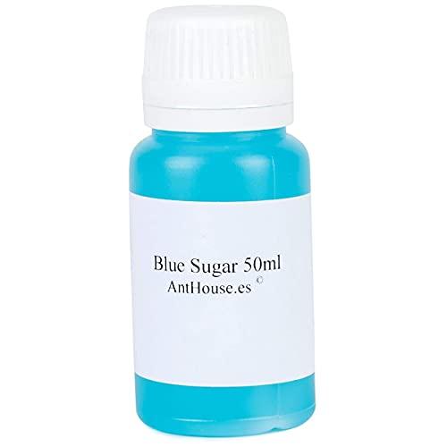 Anthouse.es   Blue Sugar 50 ml Súper Alimento para Hormigas   Néctar Alimenticio con Base de Azúcar   Complemento Ideal para tu Terrario u Hormiguero   Comida y Nutrición Especial para Hormigas