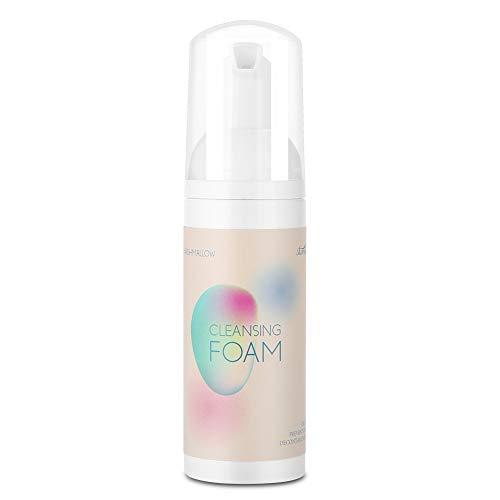 60ml Professional Eyelash Cleansing Foam, Non-irritating Grafting Artificial Eyelash Glue Cleaner, Eyelashes Extension Foaming Cleanser