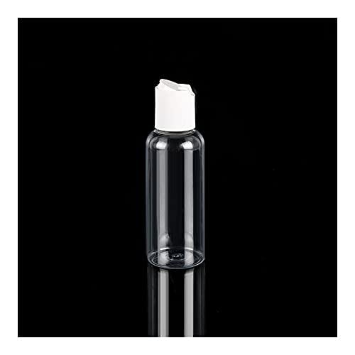BVCDF Flacons de Lotion 5pcs 30ml 50ml 60 ml 100 ml Pet Pet Clear Casmetic Emulsión Cosmética Botellas de Viaje Loción de Loción Viales Líquido Recipientes Recargables Vaporisateur