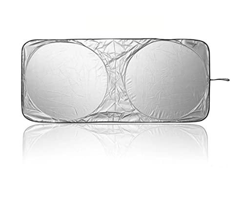 XIAOQIN BOMY Ajuste para Proteger Escudo Universal Frente Trasero Ventana de Coche Sol Sun Shade Visor Windshield Cover Auto Car Sunshade (Color : 150X70cm)