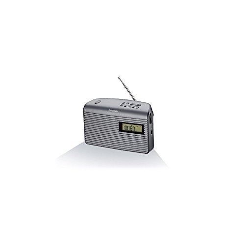 Grundig GRN1410 Music61 Radio FM RDS, Nero/Grafite