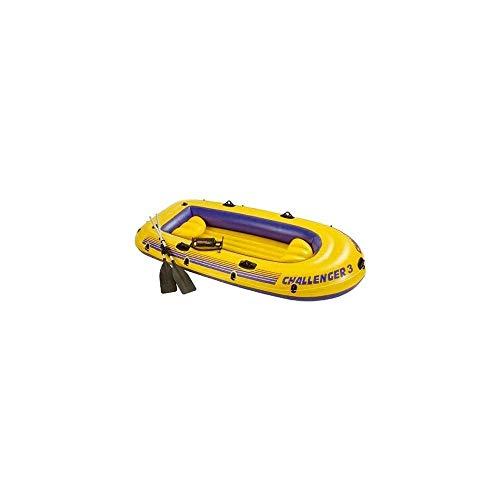 INTEX Challenger - Juego de 3 botes de agua (295 x 137 cm)