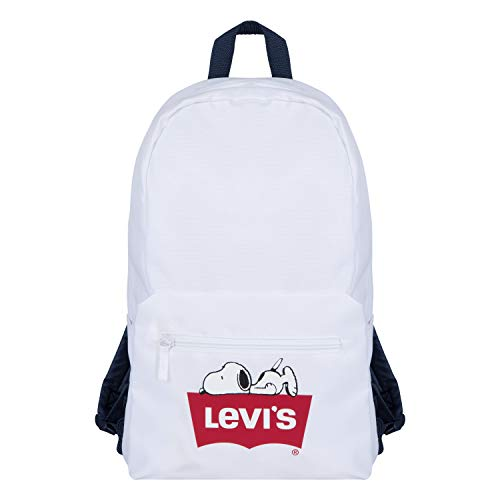 Levi's Kids' Logo Backpack, White Snoopy, One Size