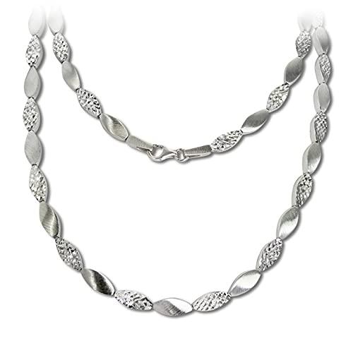 SilberDream Collar de plata de 45 cm de plata 925 SDK4794O