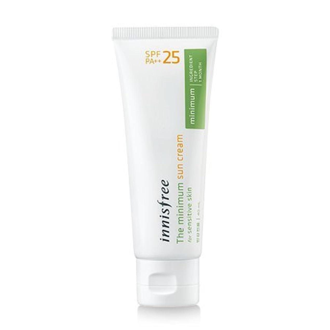 パラメータ旅客アンケート[innisfree(イニスフリー)] The minimum sun cream SPF25 PA++ 40ml ザ·ミニマム サンクリーム SPF25PA++[並行輸入品][海外直送品]