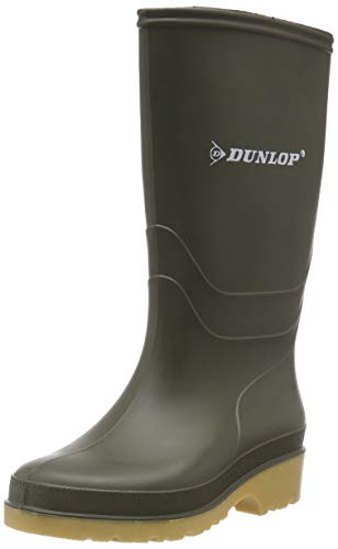 Grisport Dunlop Budget Welly, Unisex Kids Multisport Outdoor Schoenen, Groen (Groen), 11 Kind UK (29 EU)